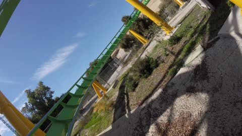 The Riddler's Revenge at Six Flags Magic Mountain