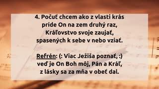 Ježiša viac chcem poznávať