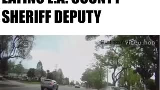Racist Woman Berates Latino Police Officer