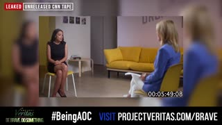 Project Veritas Releases Undercover Video of CNN Drooling Over AOC