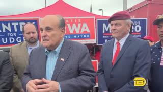 Rudy Giuliani Impersonates Joe Biden