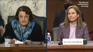 Diane Feinstein Admits She's Impressed With Amy Coney Barrett