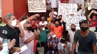 Protesta de pensionados