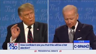 Trump calls out Biden on spying