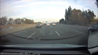 Tesla Car Crashes into Center Divide