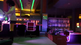 Walt Disney World Epcot Spaceship Earth attraction video