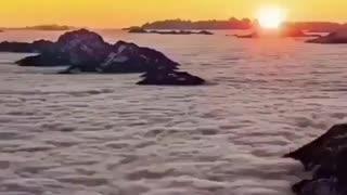 Sky Beyond the mountain