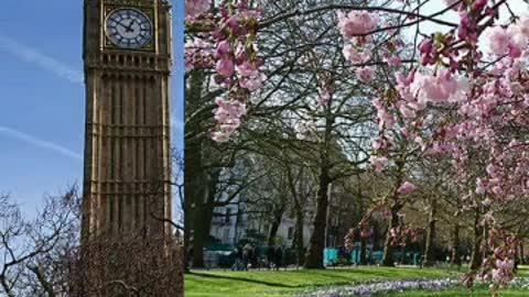 Beautiful Britain in spring