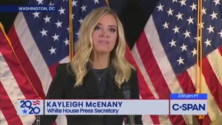 Kayleigh McEnany Torches Media and Walks Out as They Melt Down