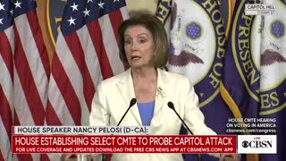 "Nancy Pelosi: Root Causes of the Jan 6 Riot Were ""White Supremacy, Anti-Semitism, Islamophobia"""