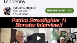 Patriot Street fighter & Dr. Sherry Tenpenny