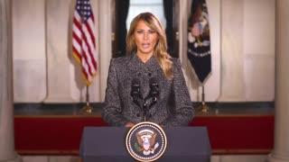 First Lady Melania Trump Farewell Address