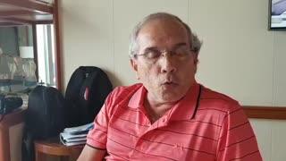 Juan Pablo Rueda, pasajero Coral Princess