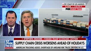 Joe Concha on Supply Chain Shortages