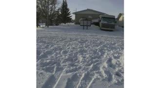 More Snow in Alberta, Canada