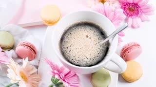 morning coffee, morning jazz music