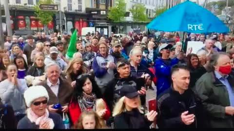 Cork City Freedom Rally May Day 2021