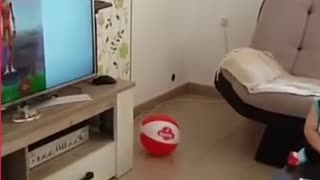 Try not to laugh funny kids video