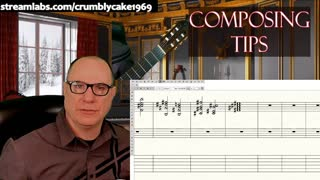 Composing for Classical Guitar Daily Tips: Chord Voice Leading