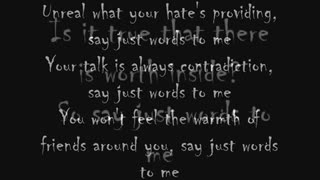 Paradise lost say just words