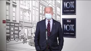 """Biden Says 56% of Americans """"Probably Shouldn't"""" Vote for Him"""