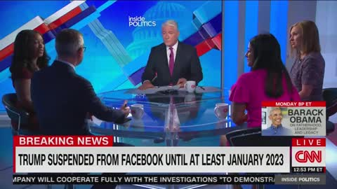 Even CNN Is Shocked About Trump's Facebook Ban