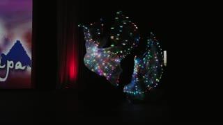 light show dance