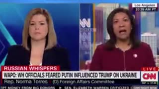 Dem Rep Pushes Wild Conspiracy Theory On CNN About Putin and Trump