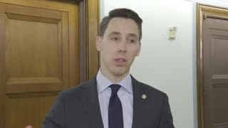 Josh Hawley Destroys Reporter For Trying To Connect Him To Capitol Riots