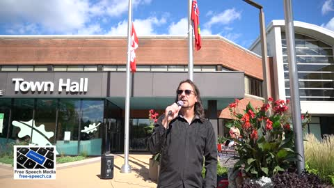 A plea for human decency at Oakville Town Hall 09/29/21