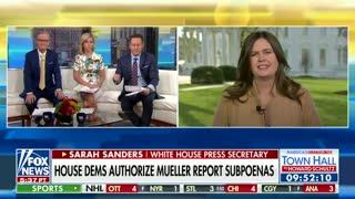 Sarah Sanders calls Dems 'sore losers'