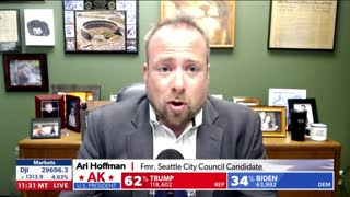 Ari on NewsMax panel discussing is the election over or not?