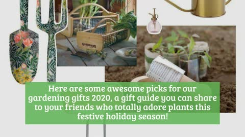 GARDENING GIFTS 2020: THE BEST GIFTS FOR PLANT LADIES