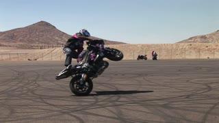 Motorcycle Rider Tricks