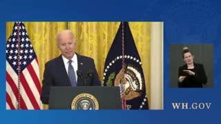Biden talks about the stock market