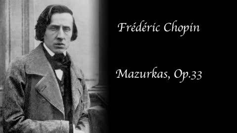 Chopin - Mazurkas, Op. 33