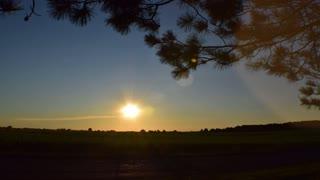 Sunset Timelapse on the Farm