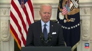 Biden Tells America to Visit vaccines.GUM