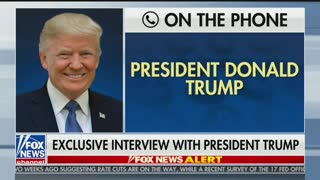 "Trump on ""Hannity"" talking about Iran"