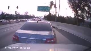 Erratic Driver Performs Brake Check