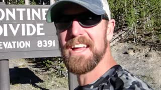 Continental Divide crossing