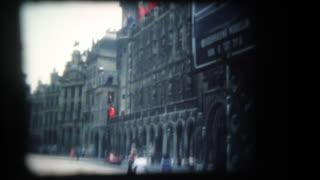 Scenes from Brussels, Belgium, circa 1970