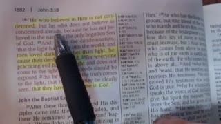 John 3:1-21 NKJV - Bible study - Jarrin Jackson