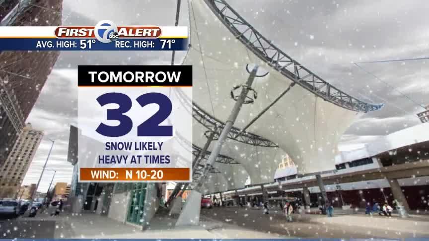Winter Storm Approaching Metro Detroit