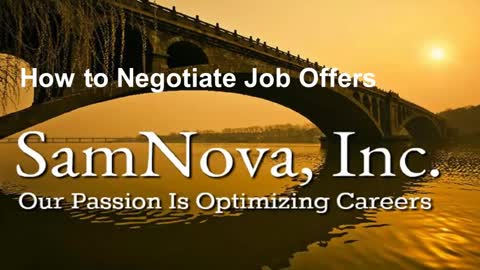 Optimize Your Career | How to Negotiate Job Offers