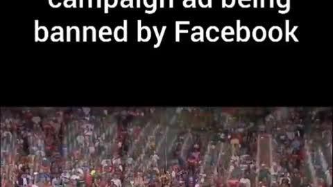 Trump AD blocked by Facebook