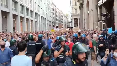 Prosvjedi Italija (8.2021)