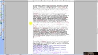Essential Bible Doctrines (Part 4: Eschatology)