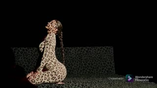 Kylie jenner leopard photoshoot