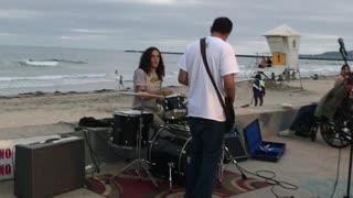 Ocean beach , party !!